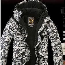New Southplay Mens Winter Premium U.S Black Military Ski-Snowboard Jacket_BJ105