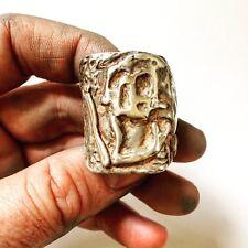 Mens Skull Ring. Men's Large Skull Biker Ring. Statement Ring | LUGDUN ARTISANS