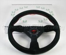 Personal Steering Wheel Grinta 330mm Black Suede Red Stitching 6430.33.2094