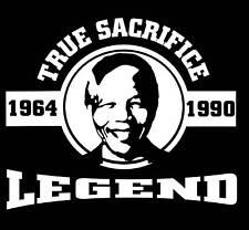 Nelson Mandela Tributo Camiseta Legend Tributo Camiseta
