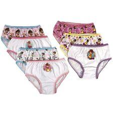 Fancy Nancy Girls Briefs 7-Pack Underwear Disney Panties Sizes 4, 6, 8
