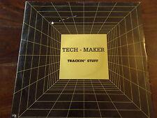 "DISCO 12"" VINILE TECH-MAKER TRACKIN' STUFF RINO FACCHINETTI & MALANGA TECHNO MIX"