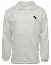 Bowling Fleece Lined Waterproof Jacket Hood Top Coat Warm Lawn Bowls lining zip