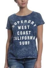 Superdry Camiseta T-shirt Women Oeste Coast BF BOLIVIA Azul Indigo