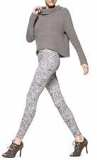 HUE Star White Cheetah Print Super Smooth Stretch Denim Legging U15154 -  $48