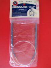 "Boye circular knitting needle, size 6, 24"""