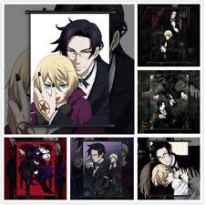 Black Butler Alois Trancy x Faustus Claude Anime Poster Scroll Home Decoration