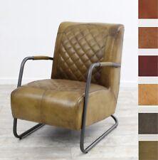 Vintage Ledersessel Echtleder Industrielook Clubsessel Retro Sessel München Nr 1
