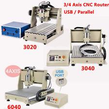 3/4 Achse 6040/3040/3020 CNC Router Fräsmaschine Langlebig Fräsmaschine Desktop