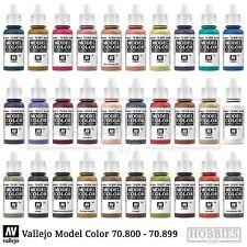 Vallejo Model Color Peinture Acrylique guerre couleurs Bouteille 17 ml 70.800 To...