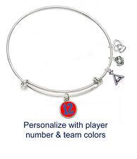 Softball Bangle Bracelet