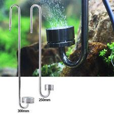 2Tipi Diffusore CO2 Per Acquario Atomizzatore Acciaio Inox Serbatoio Tank Pesce