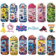 NEW Unisex Cartoon Electronic Digital Display Wrist Watch 2 Type Cover Kids Toys