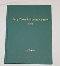 EARLY TIMES IN CLINTON COUNTY VOL II 2 Kentucky JACK FERGUSON 1st Edition SIGNED