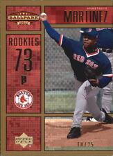 2002 (RED SOX) Upper Deck Ballpark Idols Gold #237 Anastacio Martinez ROO /25