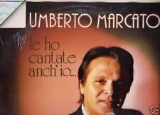 UMBERTO MARCATO LP ITALY Le ho cantate anch'io. MINA JIMMY FONTANA MARINO MARINI