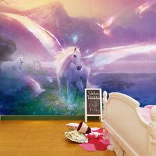 Unicorn Fairtale Fantasy Wallpaper Mural Photo Children Room Poster Decoration