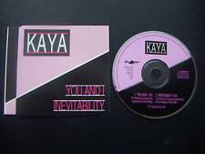 Kaya - You and I / Inevitability - CD-Single