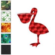 Pelican Shoebill Bird Decal Sticker Choose Pattern + Size #515