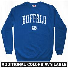 Buffalo 716 Sweatshirt - New York Bills Bisons Sabres FC NY Crewneck - Men S-3XL