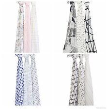 Aden+Anais Silky Soft Bamboo Muslin Baby Swaddles / Burp Clothes / Nursing Cover