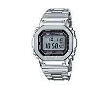 Casio G-Shock Digital Full Metal Silver Men's Watch GMWB5000D-1