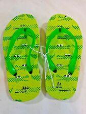 Toddler Boys Flip Flops Green Alligators Crocodiles Rubber Sandals