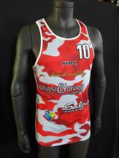 FOOTEX Canotta Beach Volley CAMOUFLAGE Sconti Per Squadre/Società Rosso/Grigio