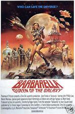 Barbarella Jane Fonda cult movie poster print