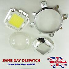 58 mm lente de cristal, Reflector Y Soporte + 70 W G03+A41 Diodo led blanco frío
