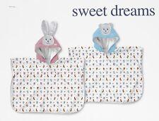 Accappatoio poncho neonato baby spugna Trudi by Gabel SWEET DREAMS coniglietto