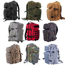 28 Litre  Molle Tactical Assault Patrol Pack Grab Rucksack Bag - All Colours