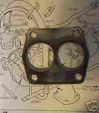 TRIUMPH TR4a TR5 TR6 EXHAUST GASKET