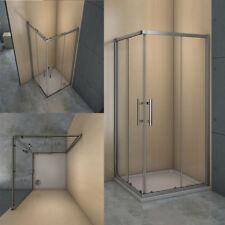 Duschkabine Eckeinstieg Duschabtrennung Dusche 6mm Glas Duschwand Duschtasse