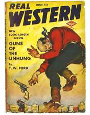 REAL WESTERN-June 1943-Columbia Pub.-Pulp