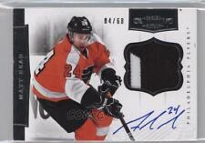 2011 Panini Dominion Autographed Patches #71 Matt Read Philadelphia Flyers Auto