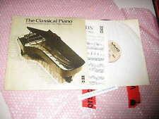 LP VA The Classical Piano MMO MUSIC MINUS ONE * + insert