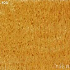 Tela Terciopelo Rayado Por Metro Amarillo Caramelo h.300 cm Cortinas Tapicería