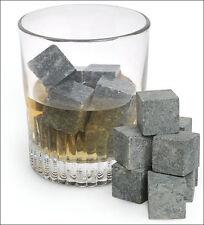 Whiskey Whisky Scotch Soapstone Cold Glacier Stone Ice Cubes Rocks