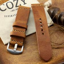 Handmade Vintage 403 Minimalist Leather Watch Strap (18mm, 20mm, 22mm, 24mm)