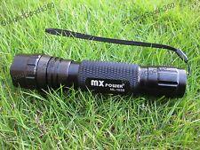 MX Power ML-103B 3Watt 395 nm Ultraviolet Radiation UV LED Lamp Flashlight Torch