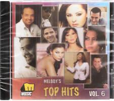 Melody's Top Hits: Hosam, Amal, Tamer, Darine, Adam, Diana, Jo Ash Arabic Mix CD