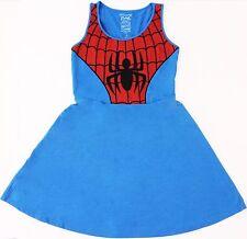 Ladies Mighty Fine Marvel Heroes Spider-Man  Tank Tunic Costume Dress S M L XL