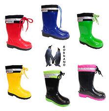 Lemigo Kim enfants garçons filles bottes caoutchouc Pluvieux neige