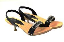 Dr. Scholl Para Mujer Negro Monroe Sandalias diferentes tamaños para elegir