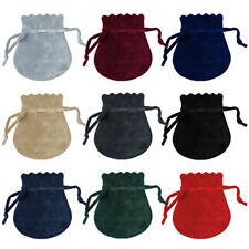 Samt Zugbeutel für Schmuck in verschiedenen Farben Schmuckbeutel