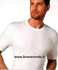 3 T-shirt uomo Nottingham manica corta a girocollo in cotone felpato art TC110