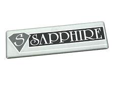 Genuine New FORD SAPPHIRE BADGE Emblem Logo Sierra Cosworth RS