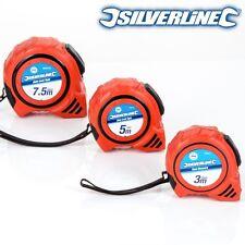 3/5 Or 7.5M AUTO LOCK BLADE TAPE MEASURE Handy Pocket Size Metric Measurements