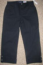 NEW! NYDJ Tummy Tuck Cropped RHINESTONE CUFF Rare STRETCH PANTS JEANS 0 $98